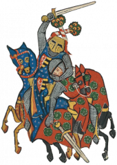 Figure: Codex Manesse Duke of Anhalt