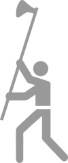 Pictogram: Sport pictogram Daneaxe