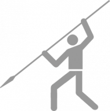 Pictogram: Sport pictogram Spear